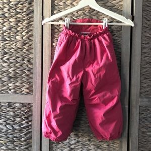 Excellent Condition REI Toddler Snow Pants!